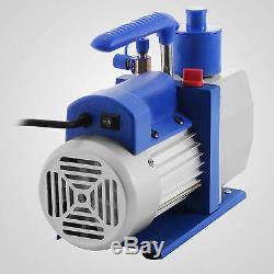 1/3hp Vacuum Pump HVAC Refrigeration AC Manifold Gauge Set R22 R134A R410A Kit