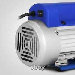3CFM Air Vacuum Pump HVAC A/C Refrigeration Kit AC Manifold Gauge Set