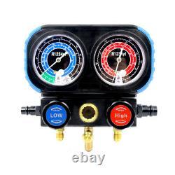 3 Way AC Manifold Gauge Set R1234yf Refrigerant Charging