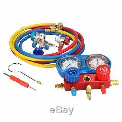 AC Manifold Gauge Set Air Conditioning Diagnostic Refrigeration Set Kit Pump