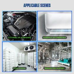 Air Conditioning A/C Manifold Gauge Set R22 R134a R410a Digital Refrigeration