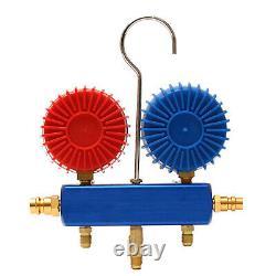 Automotive Air-Conditioning AC Manifold Gauge Set R134A Quick Couplers Kit