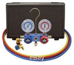 Automotive R134a 2-Way Manifold Gauge Set MSC-89660-PRO5 Brand New