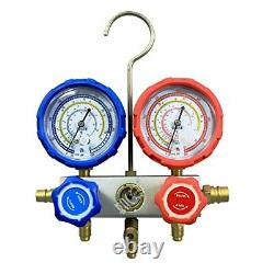 BACOENG HVAC A/C Refrigeration AC Manifold Gauge Set Ideal for R134A R410A R407C