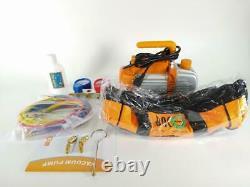 BACOENG Vacuum Pump & Manifold Gauge Set HVAC A/C Refrigeration Kit Open Box