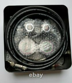 BLACKMAX CPS MV4H4P5EZ Mechanical Manifold Gauge 4 Valve Set NEW
