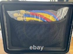 Beley Refrigeration Digital Manifold Hvac System Gauge Set With Temperature Clip