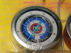 Brand New CPS M3RP5 Manifold Gauge and Hose Set
