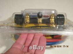 CPS MBHP5E BLACKMAX 2 Valve Manifold Set With Hoses for R-22 R-404a R-410a-NISP FS