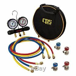 CPS Products HFO/134A MANIFOLD GAUGE SET (CPS-MTHFO134)