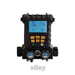 CPS Products MD100WVHE 4-V Wireless Manifold, 5ft Hose Set, Vac Gauge