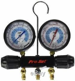 CPS Products MT7I7A6Q A/C Air Conditioning Manifold Gauge Set New Free Shipping