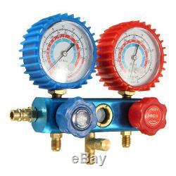 Car HVAC R134a Refrigeration Air Conditioning H/L Manifold Gauge Set