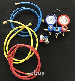 Cornwell Professional R134a Manifold Gauge Set Part# MCL89660A Free Shipping