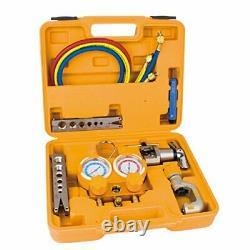 Ero Manifold Gauge Set Gor R22, R134A, R404A, R410a with Flaring Tools, Cutting