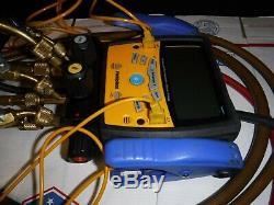 FIELDPIECE SMAN460 DIGITAL MANIFOLD GAUGE SET HVAC CLAMPS with HOSES