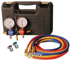 FJC 6855 Dual R134/1234YF A/C Manifold Gauge Set