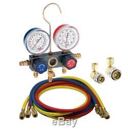 FJC, Inc. KIT6 Vacuum Pump & R134a Manifold Gauge Set FREE SHIPPING! NEW ITEM
