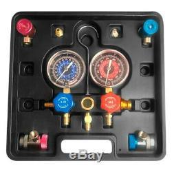FJC R-1234yf/R134a Dual Aluminum Manifold Gauge Set