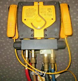 Field Piece SMAN460 Wireless 4-Port Digital Manifold with Micron Gauge Set HVAC