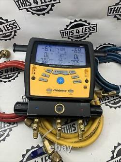 Fieldpiece SMAN360 3-Port Digital Manifold Gauge Set