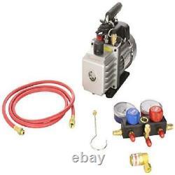 Fjc, Inc. KIT6 Vacuum Pump And R134a Manifold Gauge Set