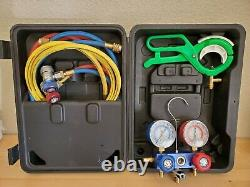 GENUINE MATCO TOOLS PROFESSIONAL R134a MANIFOLD GAUGE SET AC89661