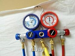 Genuine Snap-on Premium A/C Refrigeration Manifold Gauge Set