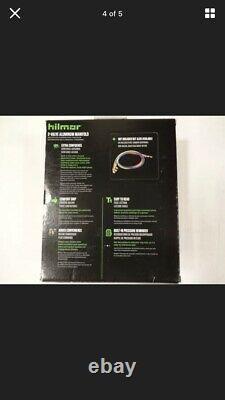 Hilmor 1839134 R22-404A-410A 2-Valve Aluminum Manifold HVAC Gauge Set Multi-C