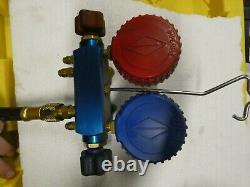 IMPERIAL Mechanical Manifold Gauge Set, 4-Valve