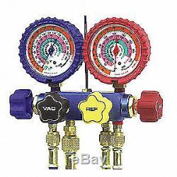 IMPERIAL Mechanical Manifold Gauge Set, 4-Valve, 644-C