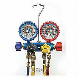 IMPERIAL Mechanical Manifold Gauge Set, 4-Valve, 651-C