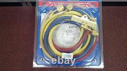 Imperial, 4-Valve Manifold, (4) 60 Hose Set with LOW-LOSS FITTINGS, 652-C