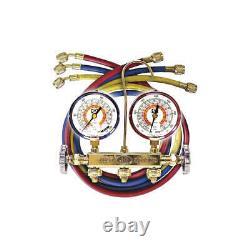 JB INDUSTRIES 22233L Mechanical Manifold Gauge Set, 2 Valves