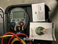 JB Industries Digital Manifold Gauge Set #DMG-5 with Case (used once)