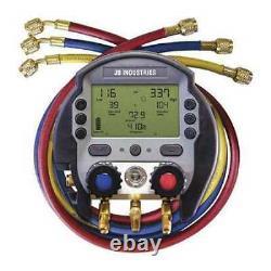 Jb Industries Dmg2-5 Digital Manifold Gauge Set, 3 Hoses