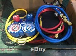 Kozyvacu Vacuum pump with manifold gauge set
