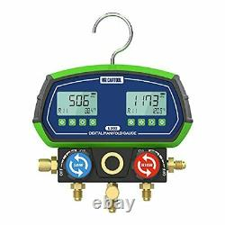 L302 Digital Manifold Dual Gauge Set HVAC, Refrigeration Vacuum Pressure