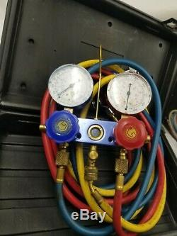 MATCO TOOLS Professional R134a Manifold Gauge Set