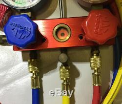 Mac Tools AC Refrigeration Kit A/C Manifold Gauge Set Air R12 R22 R134a