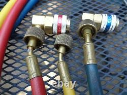 Mac Tools Professional A/C Manifold Gauge Set R134a/R12/R22/R-502 withLong Hoses