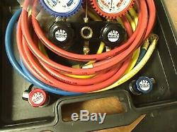 Mac Tools Professional R134a/R12 Aluminum Dual Manifold Gauge Set