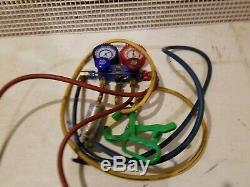 Mac Tools Professional R134a/R12 Dual Manifold Gauge Set A/C Gauges Set
