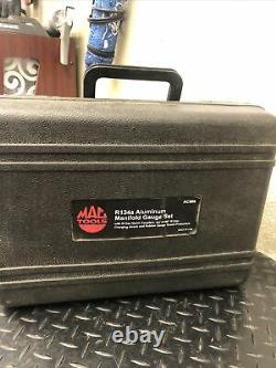 Mac Tools R134A Automatkc Digital Manifold Gauge Set Kit AC866
