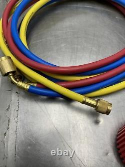Mac Tools R134a Aluminum Manifold Gauge Set Model Ac888 Ac Hvac Professional
