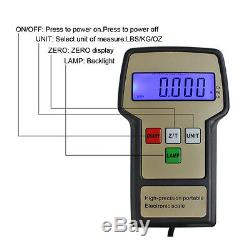 Manifold Gauge Deluxe Set R134a R410a R22 & Electronic Digital Refrigerant Scale