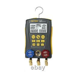 Manifold Pressure Gauge Refrigerantion Car Vacuum Pressure Digital Tester Set