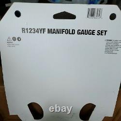 Mastercool 83272 R1234yf Aluminum Manifold Gauge Set