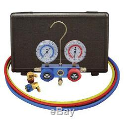 Mastercool 89660 Economy R134a Manifold Gauge Set with3-60 hoses