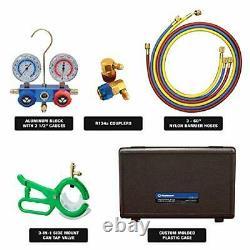 Mastercool 89660-PRO5 R134a Manifold Gauge Set